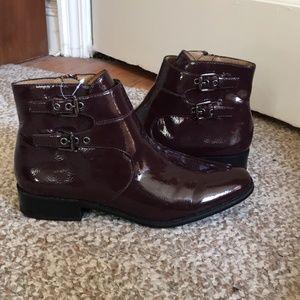 Franco Sarto Maroon Boots